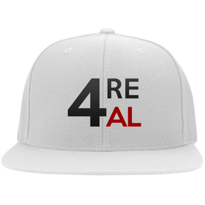 4REAL White Snapback - 4REAL