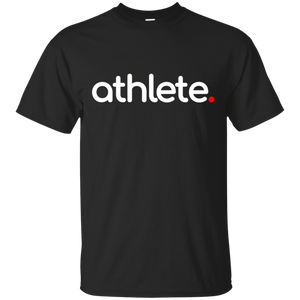 Athlete Black T-Shirt