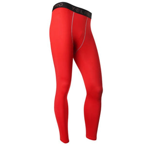 Red Compression Pant - 4REAL
