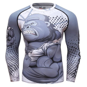 Long Sleeve KONG MMA Rashguard - 4REAL