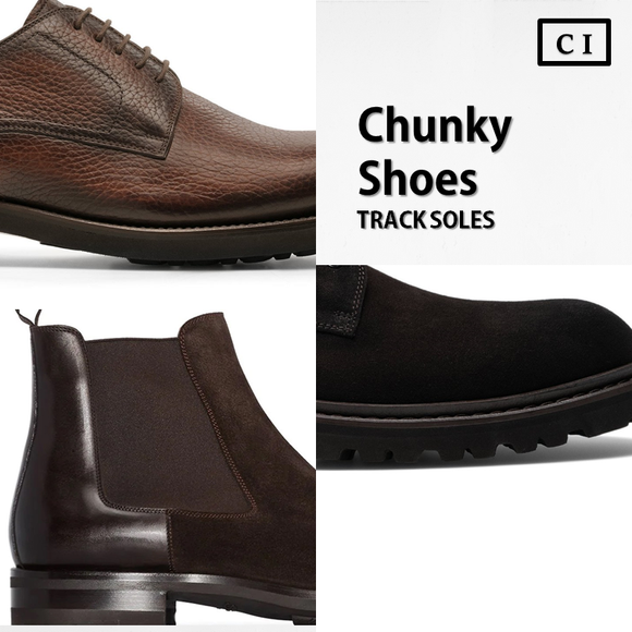 Chunky Shoes - Track Soles