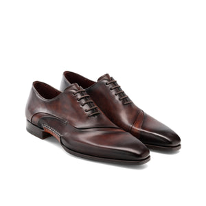 Brown Leather Coonamble Oxfords Shoes