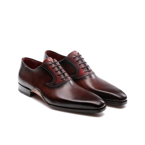 Brown Leather Armidale Brogue Oxfords