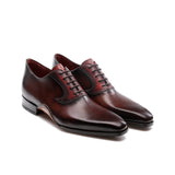 Height Increasing Brown Leather Armidale Brogue Oxfords