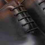 Black & Brown Leather Tasmania Oxfords