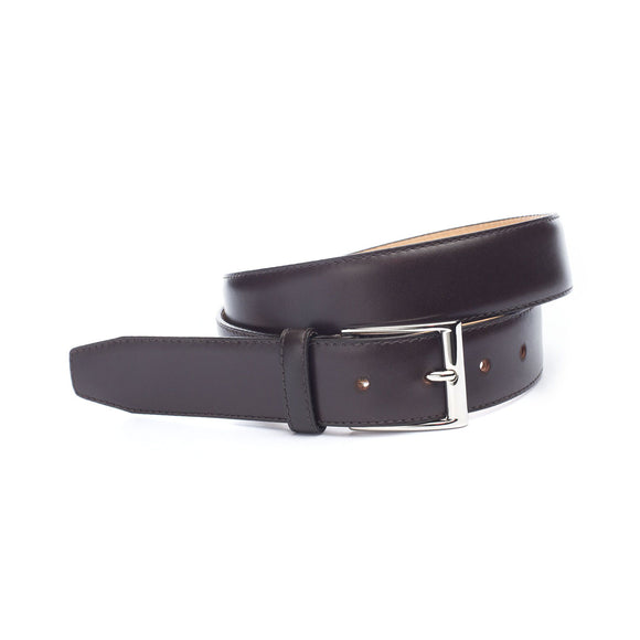 Brown Leather Clare Belt