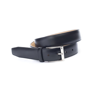 Black Leather Richmond Belt