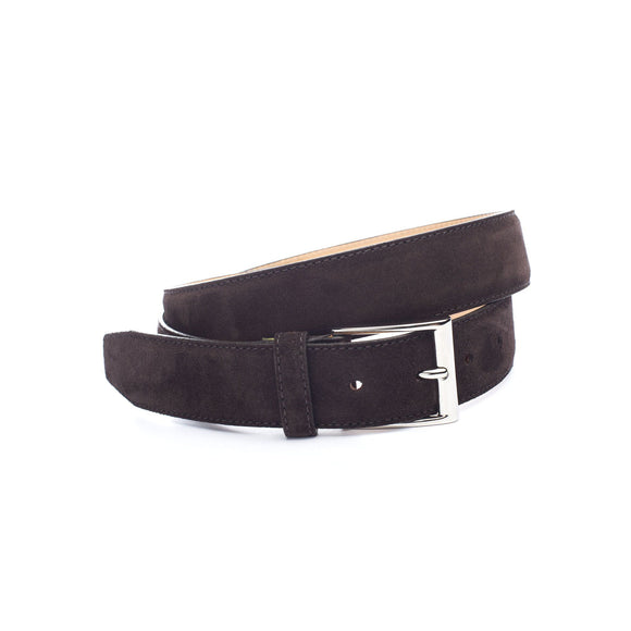 Brown Suede Renmark Belt