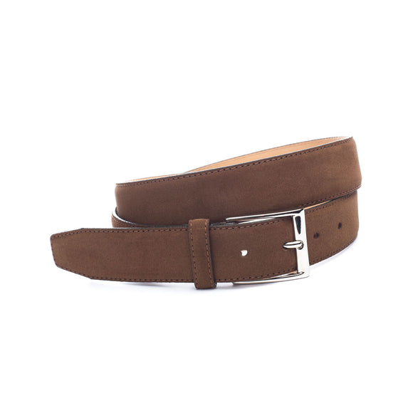 Brown Suede Kingston Belt
