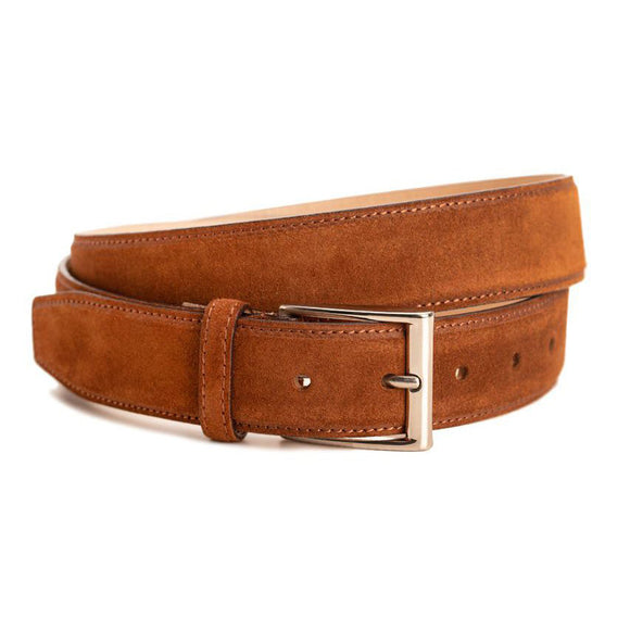 Tan Suede Burnie Belt