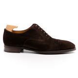 Brown Suede Eastney Toe Cap Oxfords
