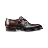 Brown and Black Leather Castle Monk Straps