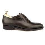 Brown Leather Paveley Brogue Oxfords
