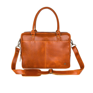 Brown Leather Kavel Messenger Bag