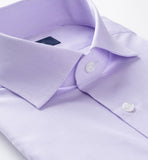 Lavender Purple Cotton Broadcloth Luton Business Shirt