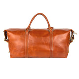 Brown Leather Stuart Duffel Bag
