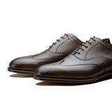 Olive Green Leather Gedling Brogue Oxfords