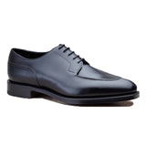 Black Leather Hamlet Derby Shoes
