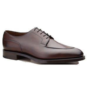 Brown Leather Hamlet Derby Shoes