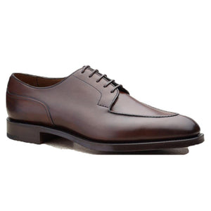 Flat Feet Shoes - Brown Leather Hamlet Derby Shoes with Arch Support