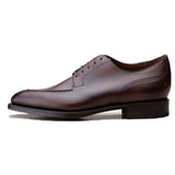 Height Increasing Brown Leather Hamlet Derby Shoes