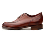 Height Increasing Fire Tan Leather Hamlet Derby Shoes