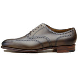 Olive Green Leather Wealden Oxfords