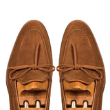 Flat Feet Shoes - Tan Suede Yukon Loafers with Arch Support