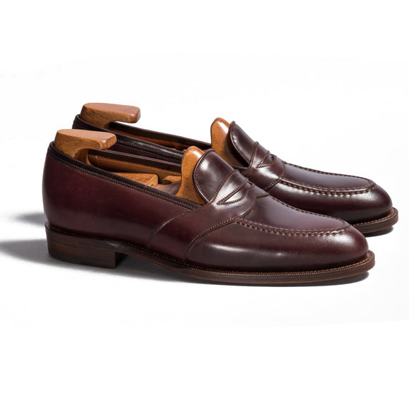 Brown Leather Scotia Loafers