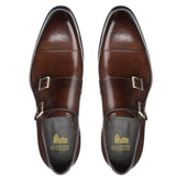 Brown Leather Castle Monk Straps