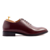 Cherry Brown Leather Drayton One Cut Oxfords