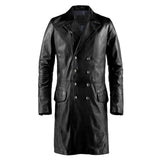 Black Leather Mareeba Jacket