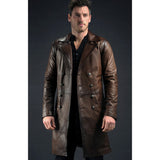 Brown Leather Moranbah Jacket