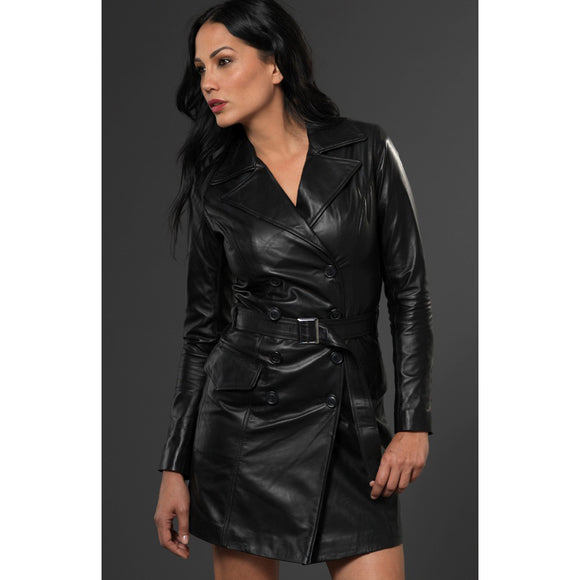 Black Leather Redcliffe Jacket