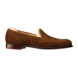 Flat Feet Shoes - Tan Suede Helmstedt Loafers with Arch Support