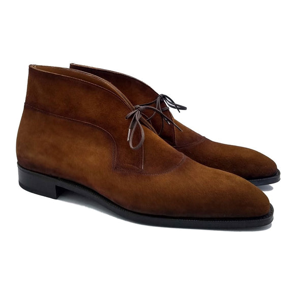 Brown Suede Corowa Chelsea Boots