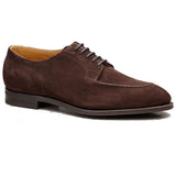 Brown Suede Hamlet Derby Shoes