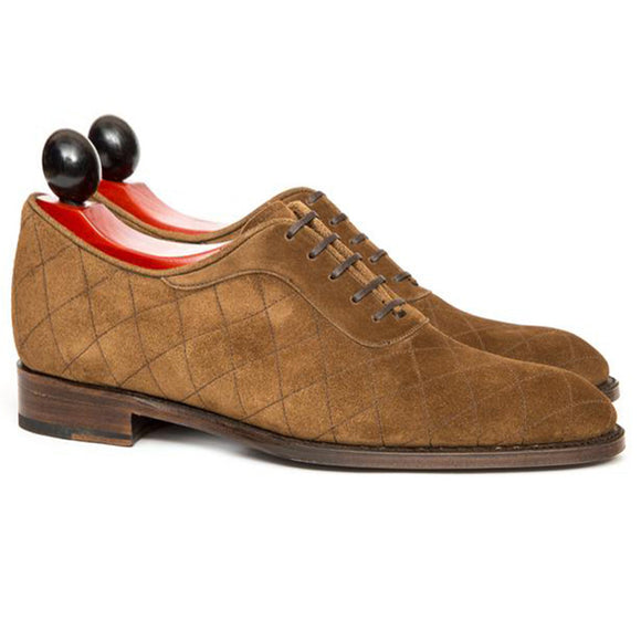 Height Increasing Black Leather Copnor Oxfords