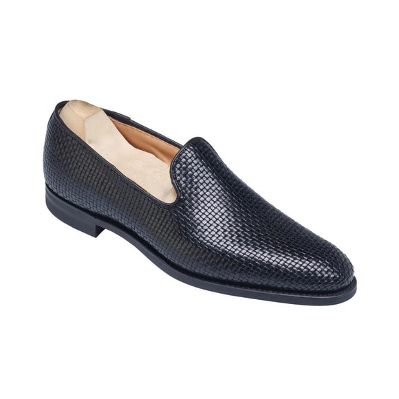Flat Feet Shoes - Black Leather Bexley Loafers with Arch Support