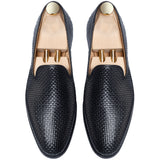 Black Leather Bexley Loafers