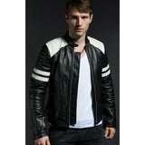 Black Leather Cairns Jacket