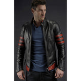 Black Leather Cooktown Jacket