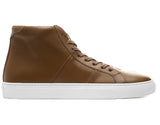 Height Increasing Tan Leather Coleman Sneaker Boots