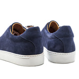 Navy Blue Suede Cieza Whole Cut Sneakers