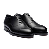 Black Leather Broxtowe Balmoral Oxfords