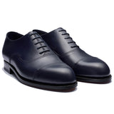 Navy Blue Leather Broxtowe Balmoral Oxfords