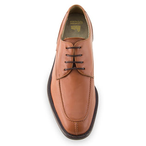 Height Increasing Tan Leather Wynyard Derby Shoes