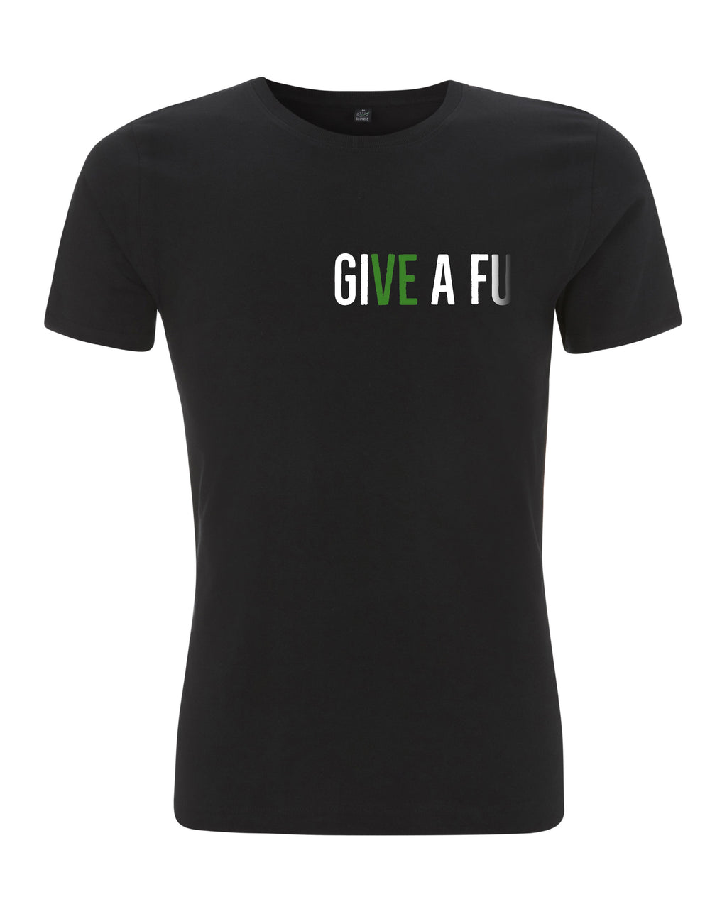 GIVE A FU Original Men's Slim Fit Organic Cotton T-shirt
