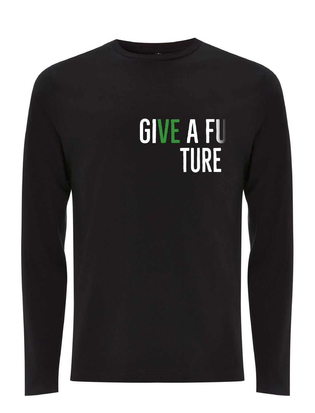 GIVE A FUTURE Men's Long Sleeve Organic Cotton T-shirt
