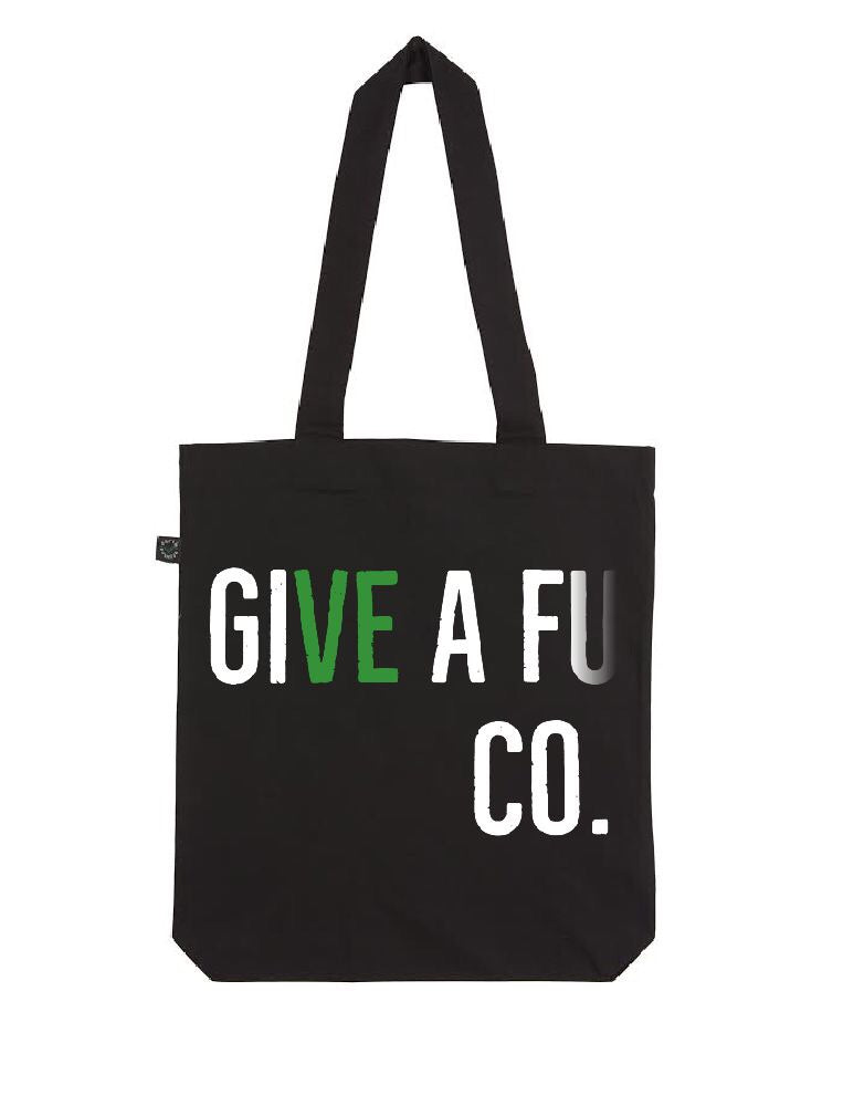 GIVE A FU CO. Organic Cotton Tote Bag